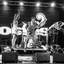 Heine Totland´s Rock & Roll Circus kjem attende til Osfest. (Pressefoto)