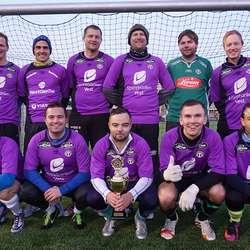 1. plass i herrar amatør: Sunday League Football.