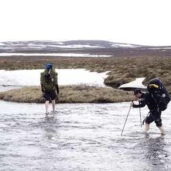 Patrik, Jon og Trygve - Norge til fots 2016.