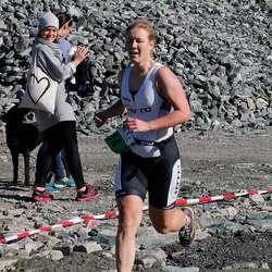 Vinnar kvinner elite Cecilie Christensen (foto: Andris Hamre)