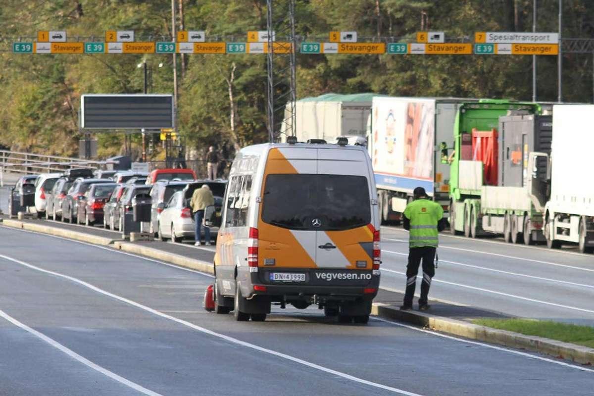 Sjåfør meldt grunna manglande merking