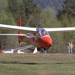 Så var det take-off. (Foto: KVB)