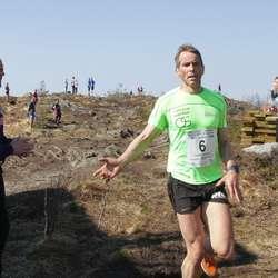 Klas Færøvik kom i mål på 22:53, godt nok til 2. plass i klassen. (Foto: KVB)