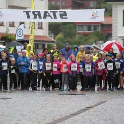 Barneløpet 7-9 år. (Foto: Kjetil Vasby Bruarøy)