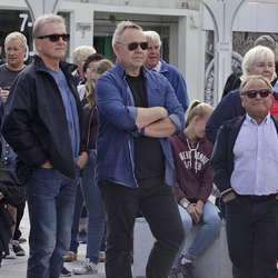 – Rørande, synest Hans Bjørn. (Foto: KVB)