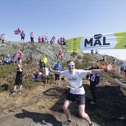 Ole Petter Matthiessen tok 3. plass i 40-44 år med 24:11. (Foto: KVB)