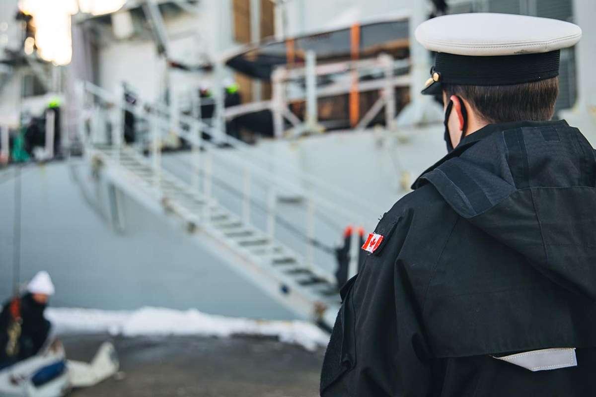 Øvelse TG-21-1 er i gang. (Foto: Sjøforsvaret)