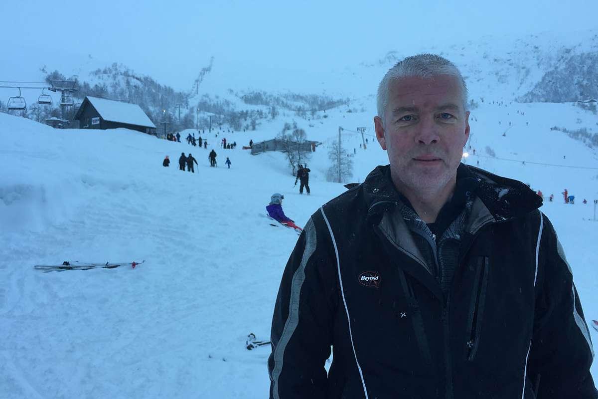 Dagleg leiar i Eikedalen Skisenter, Fredrik Tønjum, er spent på vêret før påske. (Arkivfoto: KVB)