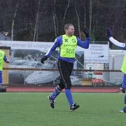 Jubel hos Kattakve etter 2-0-skåring.