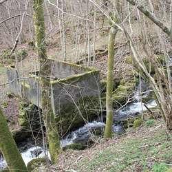 Men rett nedanfor renn denne idylliske vesle elva. (Foto: KVB)