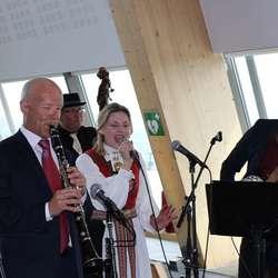 Marita Moe Sandven sang med Osøren jazzensemble (foto: AH)