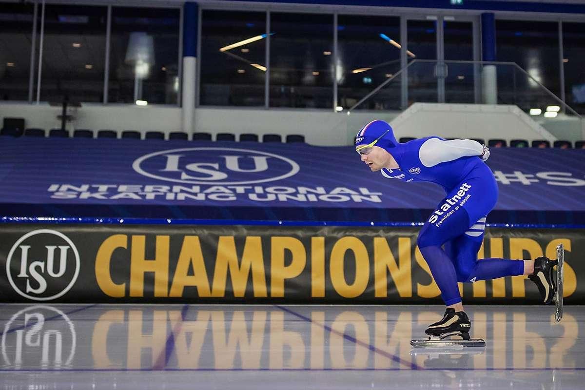 Sverre Lunde Pedersen er skuffa etter VM, men motivert før oppkøyringa til 2022 med OL i Beijing som hovudmål. (Foto: ISU)