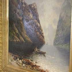 «Fra Geirangerfjorden» av Rasmussen går også tilbake til Reksten.