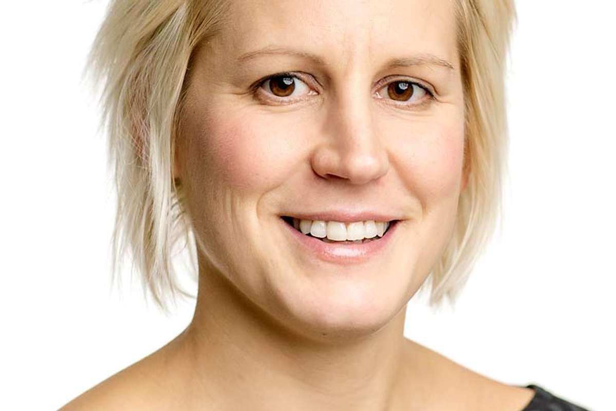 Seksjonsleder i Artsdatabanken Ingrid Ertshus Mathisen. (Foto: Geir Mogen)