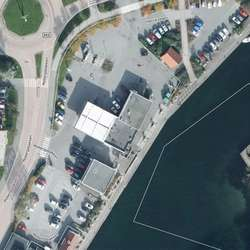 Esso-tomta. (Kart: Os kommune)