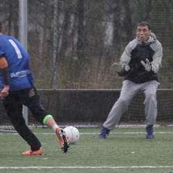 Team Fløysand vann 3-0 over The Grim Reapers i mellomspelet. (Foto: KVB)