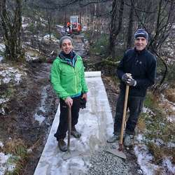 Andrea og Leif Erik.