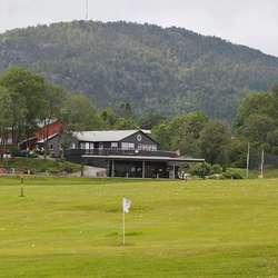 Bjørnefjorden Golfklubb på Hauge. (Foto: KVB)
