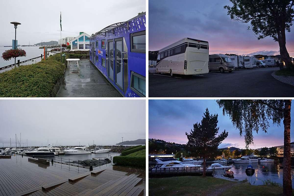 Os hamn torsdag kveld og fredag morgon. (Foto: Kjetil Vasby Bruarøy)