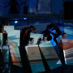 Glimt frå den første tekniske prøva av Havfest, måndag 20. mai (foto: AH)