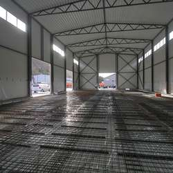 To tredelar av bygget, 648 kvm, blir produksjonshall. (Foto: Kjetil Vasby Bruarøy)