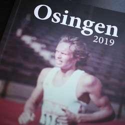 Erling Andersen pryder framsida på årets utgåve av Osingen.