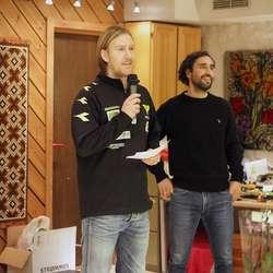 Ørjan Håland og Hassan El Fakriri. (Foto: KVB)