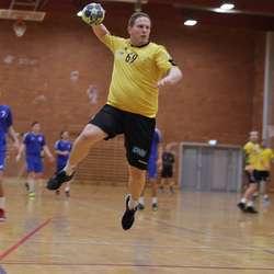 Comeback-kid Fredrik Andresen kom innpå og skåra tre. (Foto: KVB)