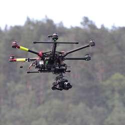 Varde Aerial hadde kontroll over luftrommet. (Foto: Kjetil V. Bruarøy)