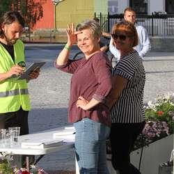 Sentrumsforeninga sto for billettsalet (foto: AH)