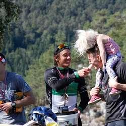 Seierspallen herrer elite. Tor Berge, Mikal Iden og Geir Føleide (foto: Andris Hamre)