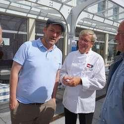 Torstein Hatlevik, Gunnar Nagell Dahl og Johny Olsen. (Foto: KVB)