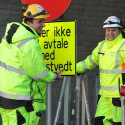 Jacobsen og Rusås hadde tydelegvis sett fram til denne dagen. (Foto: KVB)