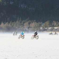 – For oss som har så liten treningsbane var det fantastisk å koma på isen. (Foto: KVB)