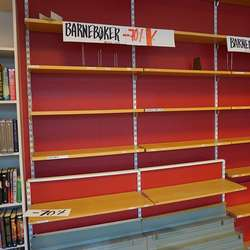 Barnebøker har gått unna før siste opningsdag. (Foto: KVB)
