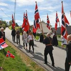 Retning Hatvikvegen. (Foto: Anders Fløysand)