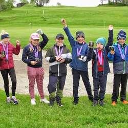 73 deltakar var med på juniorturneringa på laurdag. (Foto: BG)