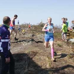 Inger Gro Lien var tredje raskaste uansett klasse. (Foto: KVB)