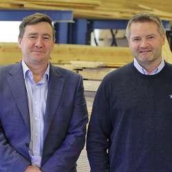 Asvo-sjefane Kristian Nygård og Fredrik Lihaug. (Foto: KVB)