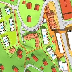 20 bueiningar på den tomta til gamle Os barnehage (ill: ABO for Os kommune)