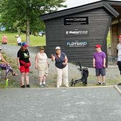 Golfklubben har den einaste tilrettelagte petanque-banen i kommunen (foto: AH)