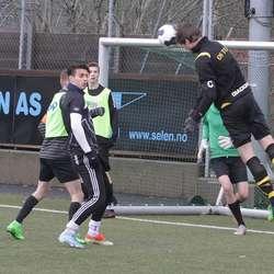 Ståle vs Os United. (Foto: KVB)