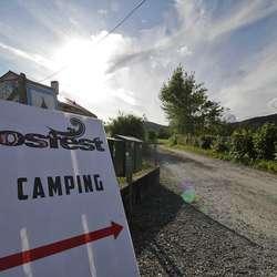 Kuven Farm Camping er offisiell festivalcamp. (Foto: Kjetil Vasby Bruarøy)