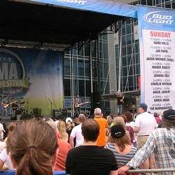 Musikarane frå Os fekk med seg delar av CMA Country Music Festival.