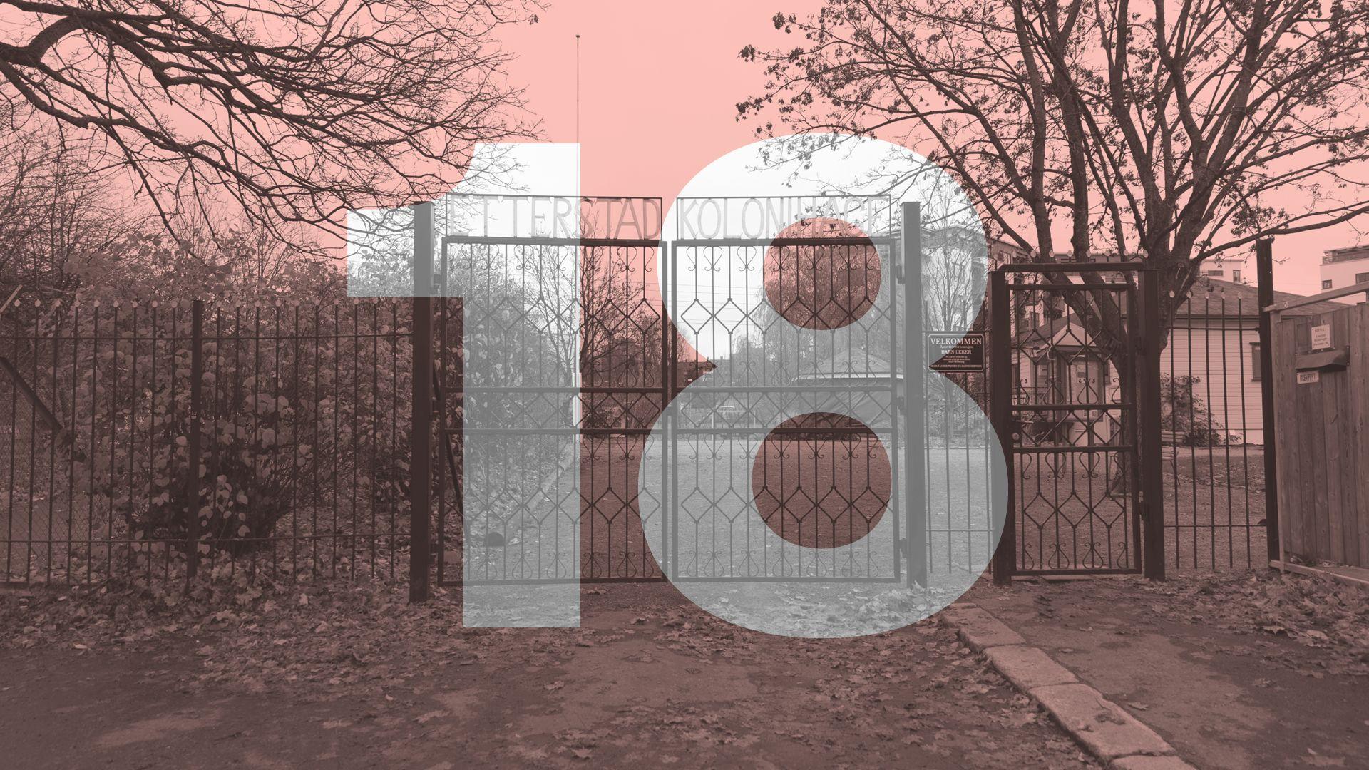 Door number 18