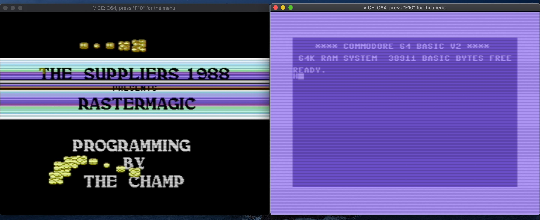 Commodore 64-emulator.