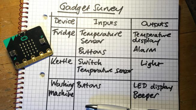A sample survey of inputs and outputs of domestic appliances