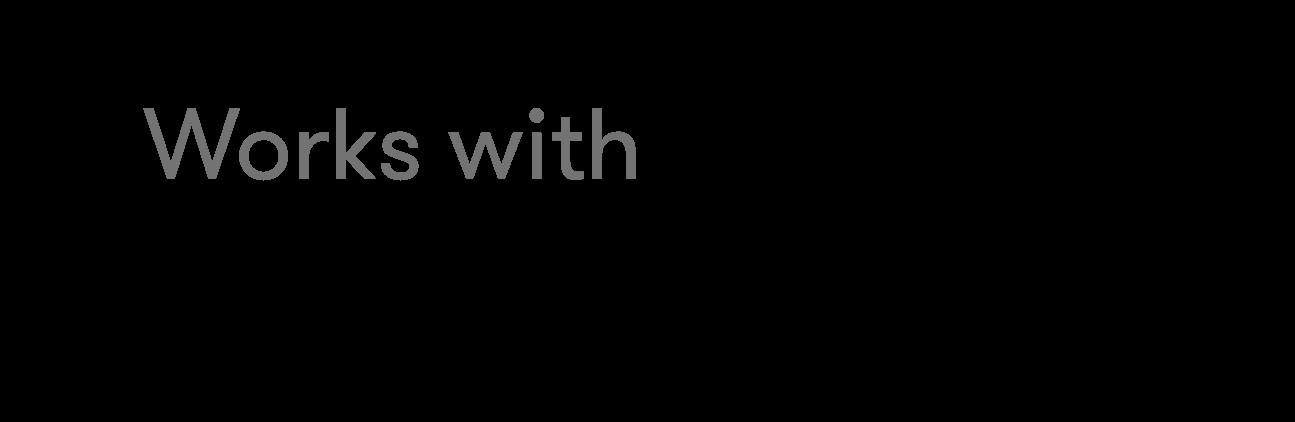 works with V2 logo