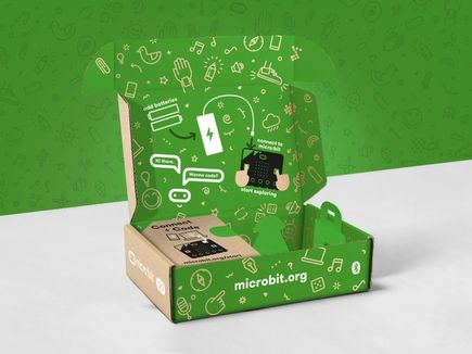 The new micro:bit packaging