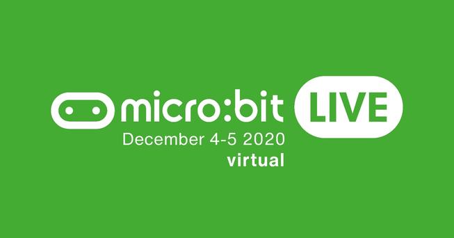 micro:bit live 2020 virtual logo